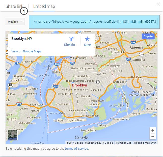 Wordpress How To Insert Google Map Using Shortcode Template