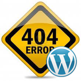 WordPress. How to edit 404 page
