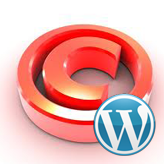 WordPress. Wie editiert man copyright Text in Footer.