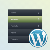 WordPress. How to manage menus