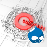 Drupal 7.x. How to edit footer copyright