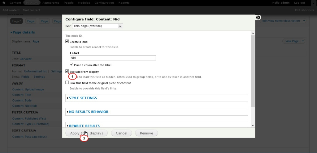 Drupal 7 x how to add a read more link to view nodes for Drupal 7 view template