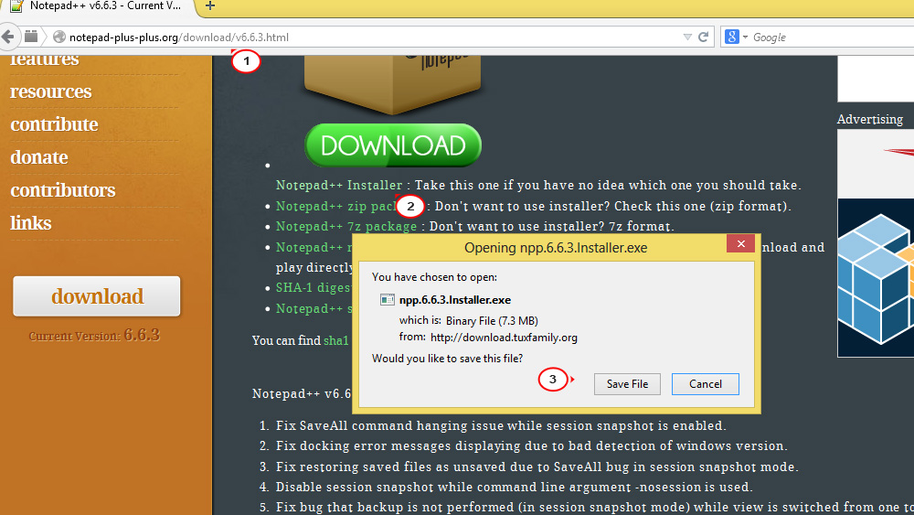 install notepad++ windows 7 free download