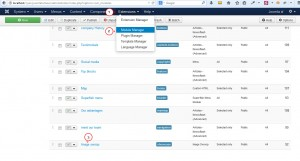 Joomla 3.x. How to make sliderother modules appear on all pages-1