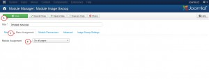 Joomla 3.x. How to make sliderother modules appear on all pages-2