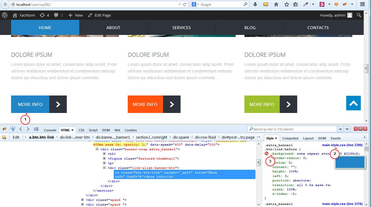 WordPress. Cherry Framework 3.x schreibt ständig meine CSS ...