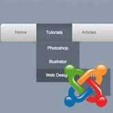 Joomla 3 x. How to manage top menu and change menu items order