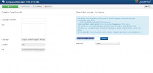 Joomla 3.x. How to edit the Contacts page text4