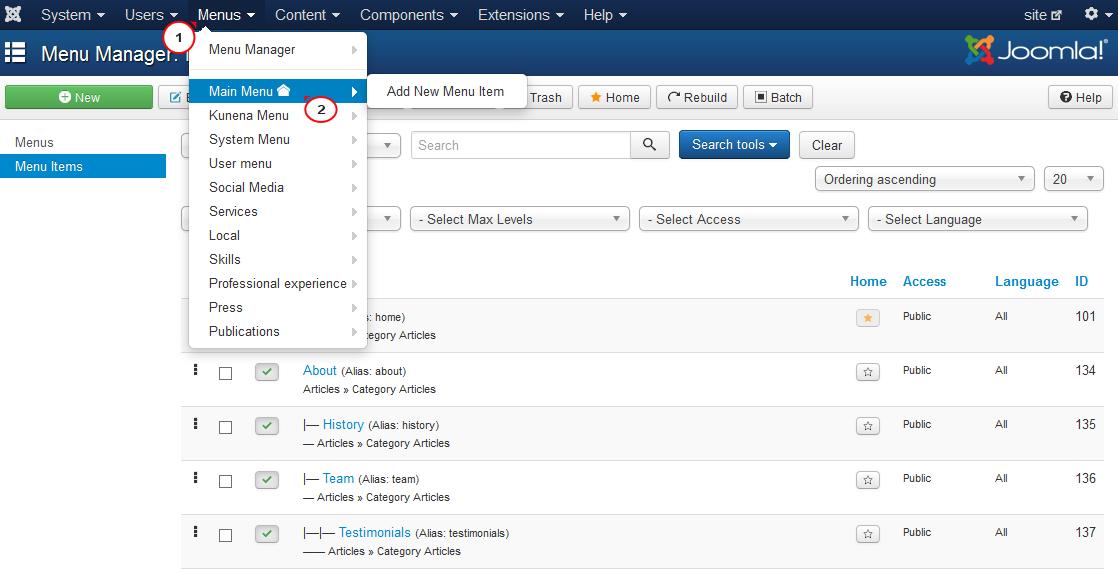 Joomla 3.x. Wie kann man den Warenkorb verwalten und gelöschte ...