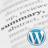 WordPress Cherry 3.x. Wie ändert man die Längenbegrenzung des Auszuges (excerpt)