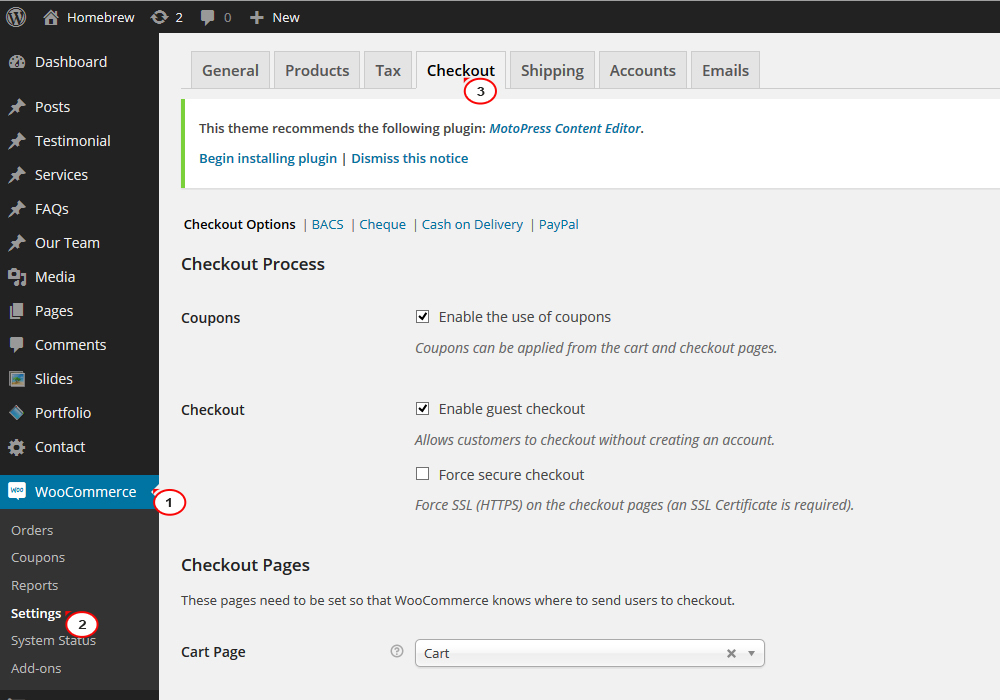 How To Add Terms And Conditions Checkbox2