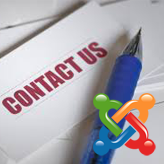 Joomla 3.x. How to edit the Contacts page text