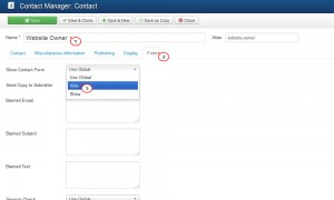 how to remove contact form.4