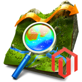 Magento. How to change Google Map location