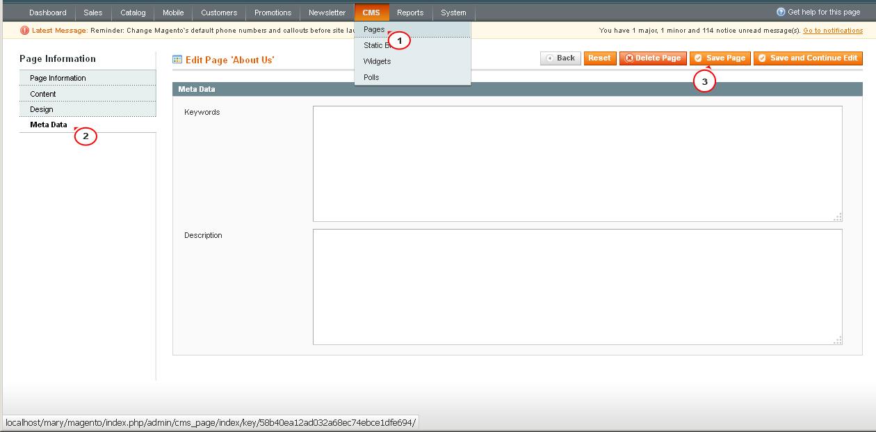 5e809d6138d Magento. How to manage shop meta data - Template Monster Help