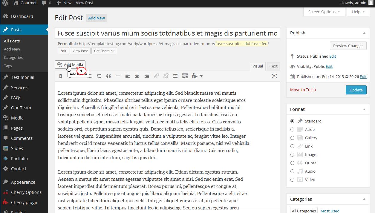 add .mov to wordpress