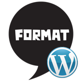 WordPress. How to use blog posts formats
