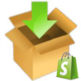 How to upload template (install) to Shopify
