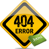 JS Animated. How to integrate custom 404 error page