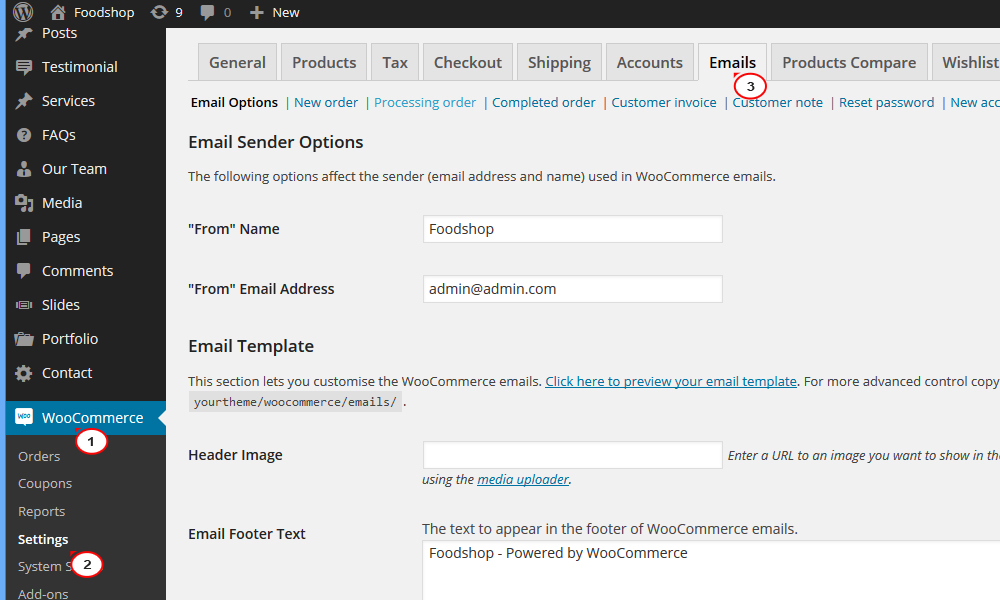 Woocommerce How To Enable Order Confirmation Emails  Template