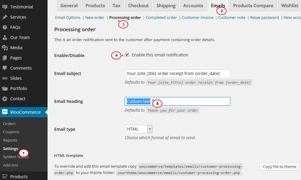 woocommerce how to enable order confirmation emails template monster help. Black Bedroom Furniture Sets. Home Design Ideas