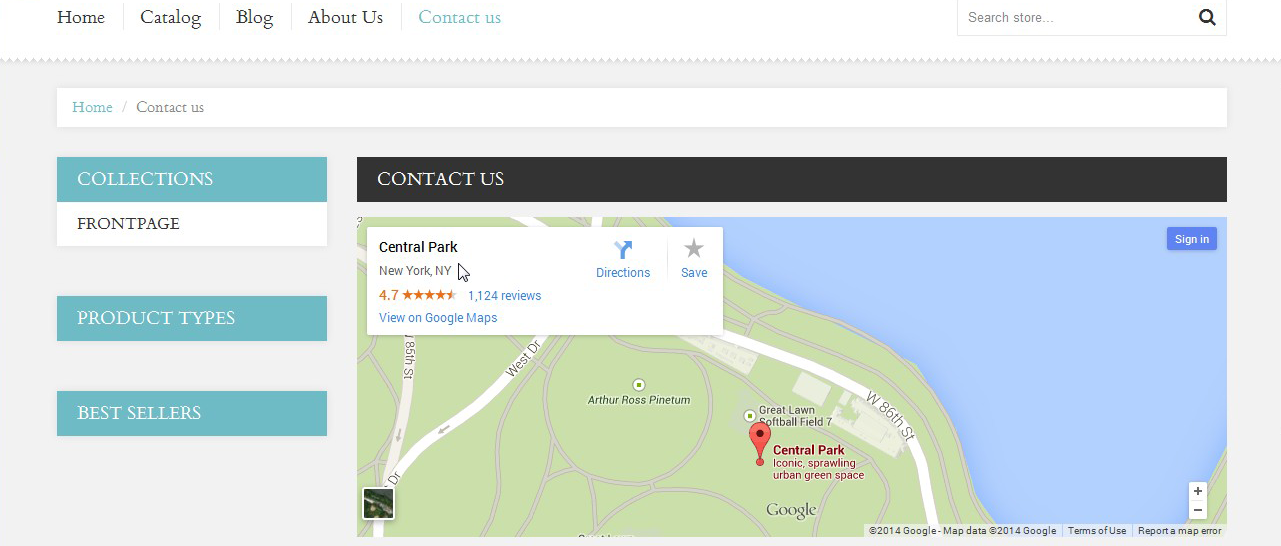 Change Location Google Maps on