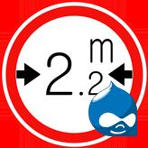 Drupal 7.x. Wie ändert man Bildgrößen des Sliders