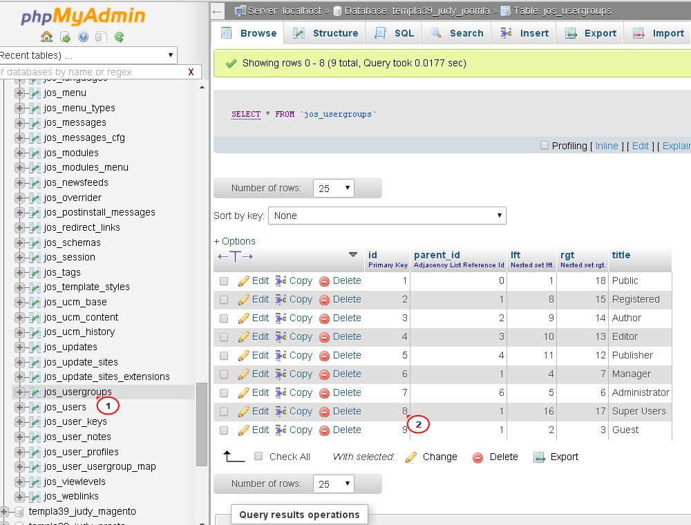 reset joomla admin password command line