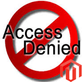 "Magento. How to deal with ""Access Denied"" issue in admin panel"