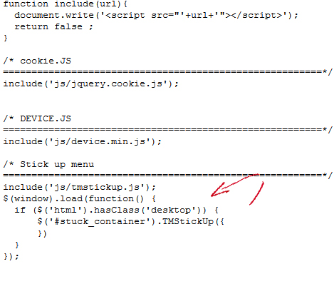 how to find js scripts in cpanel