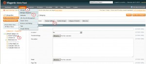 Magento. How to change default sort order for category1
