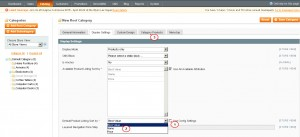 Magento. How to change default sort order for category2