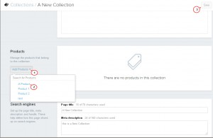 Shopify. How to add new category (collection)4