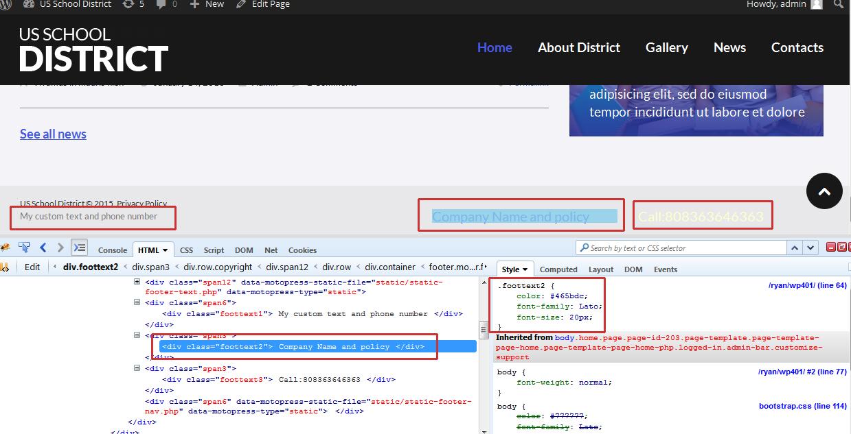 insert custom query wordpress