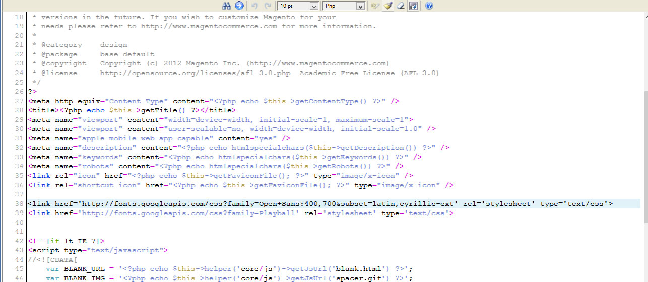 Magento  How to change Megamenu font - Template Monster Help