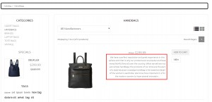 Oscommerce. How to change amount of symbols in different template sections-8
