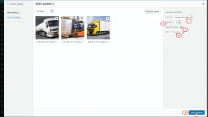 WordPress-How to add caption to a gallery format posts images-5