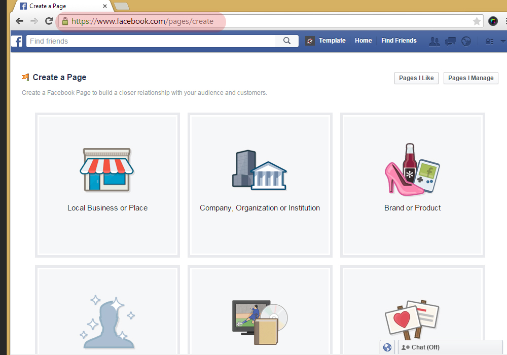 facebook how to create a page template monster help. Black Bedroom Furniture Sets. Home Design Ideas