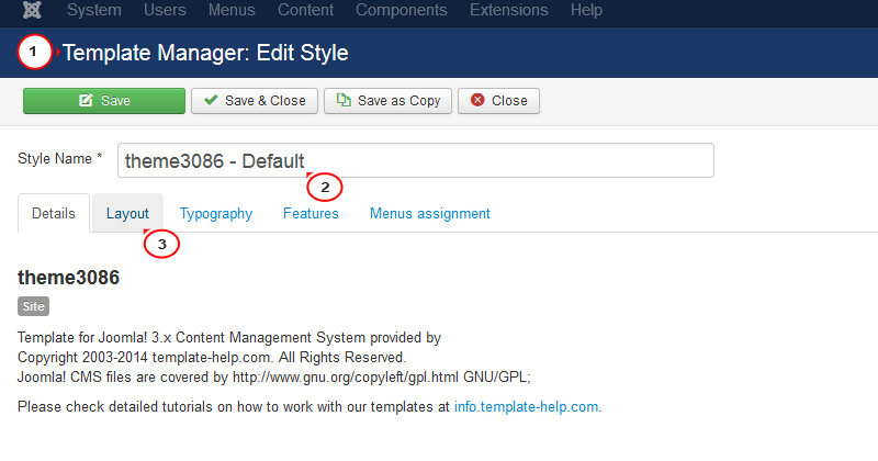 Joomla 3.x. How to change the logo via admin panel - Template ...