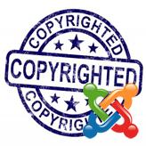 Joomla 2.5.x. How to edit footer copyright