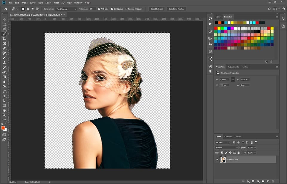 Photoshop How To Make Image Transparent Template Monster Help
