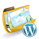 WordPress. How to add caption to images of gallery format posts