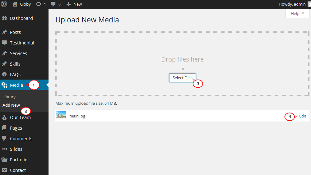 how to add video background to wordpress.com page