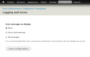How_to_manage_error_reporting_in_Drupal 7.x_2