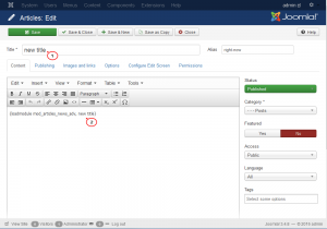 Joomla 3.x. How to work with Bootstrap tabs module-2