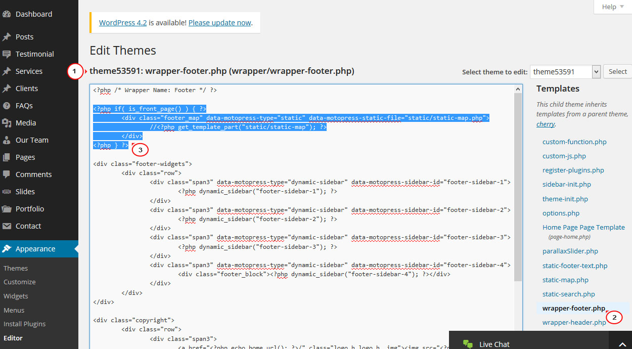 how to remove map from home page4