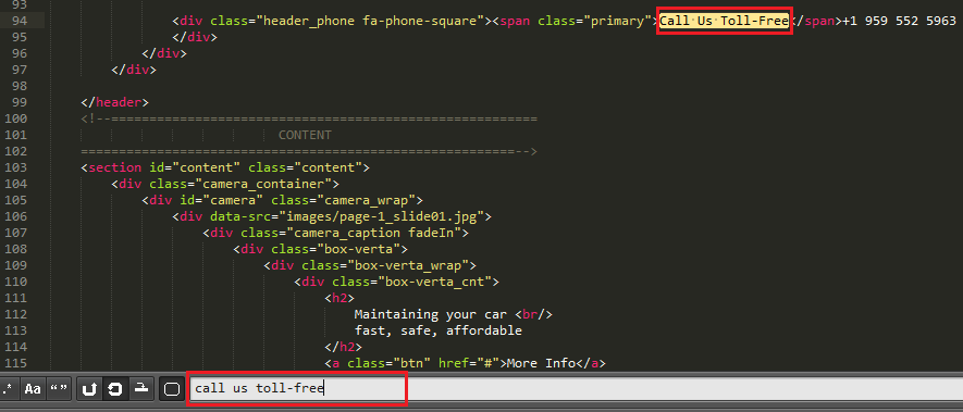 JS Animated. How to edit text with Sublime Text2 editor - Template ...