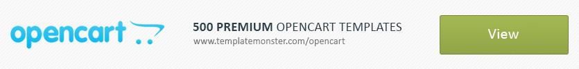 500 Premium OpenCart Templates