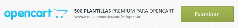 500 Plantillas Premium para OpenCart
