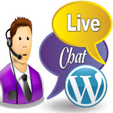 WordPress. How to activate Olark live chat feature